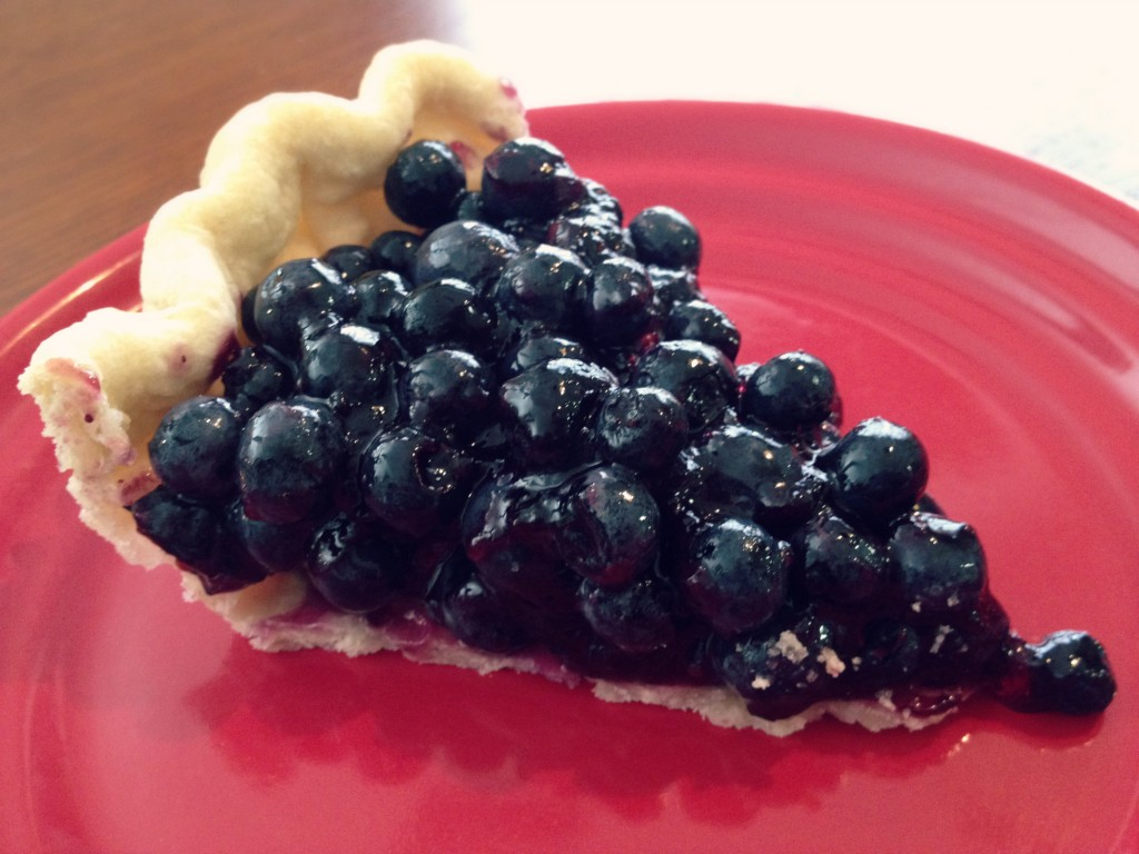 Summer Sweat Treat: Blueberry Pie