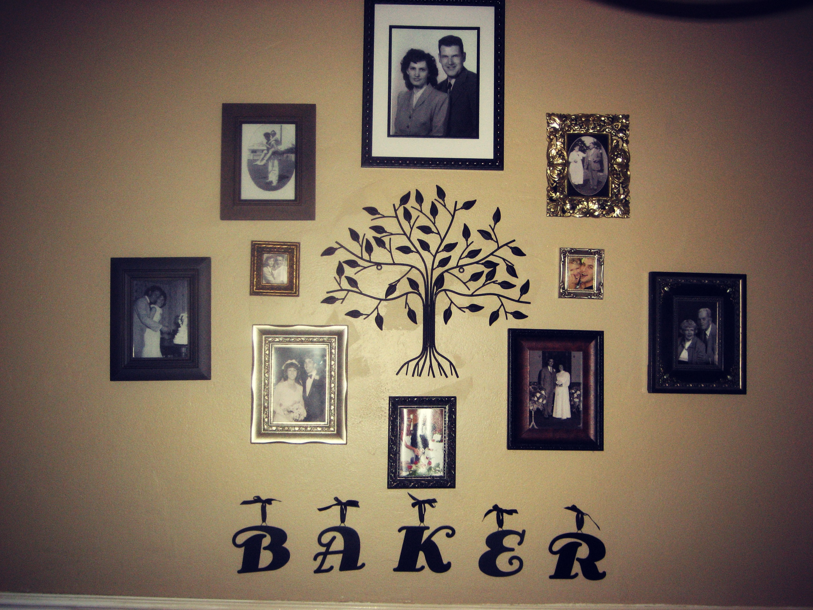 Family Wall Picture Ideas - Inarace.net