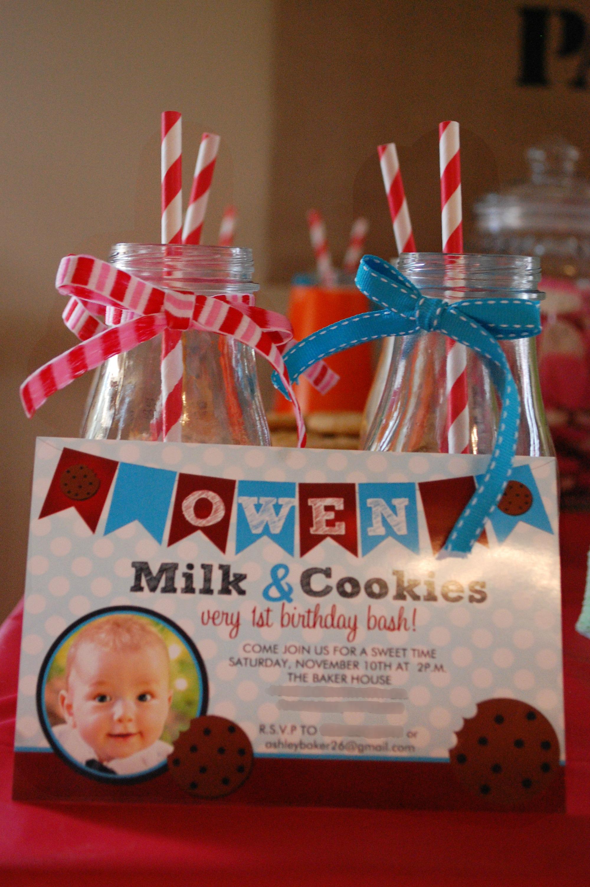 Owen S Cookies And Milk Party