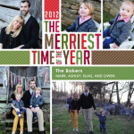 It's The Merriest Time of the Year: Our Christmas Card