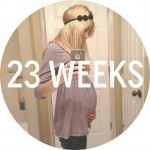 Baby Bump Update (and a link-up)