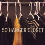 The 50 Hanger Closet