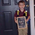Elias' First Day of School