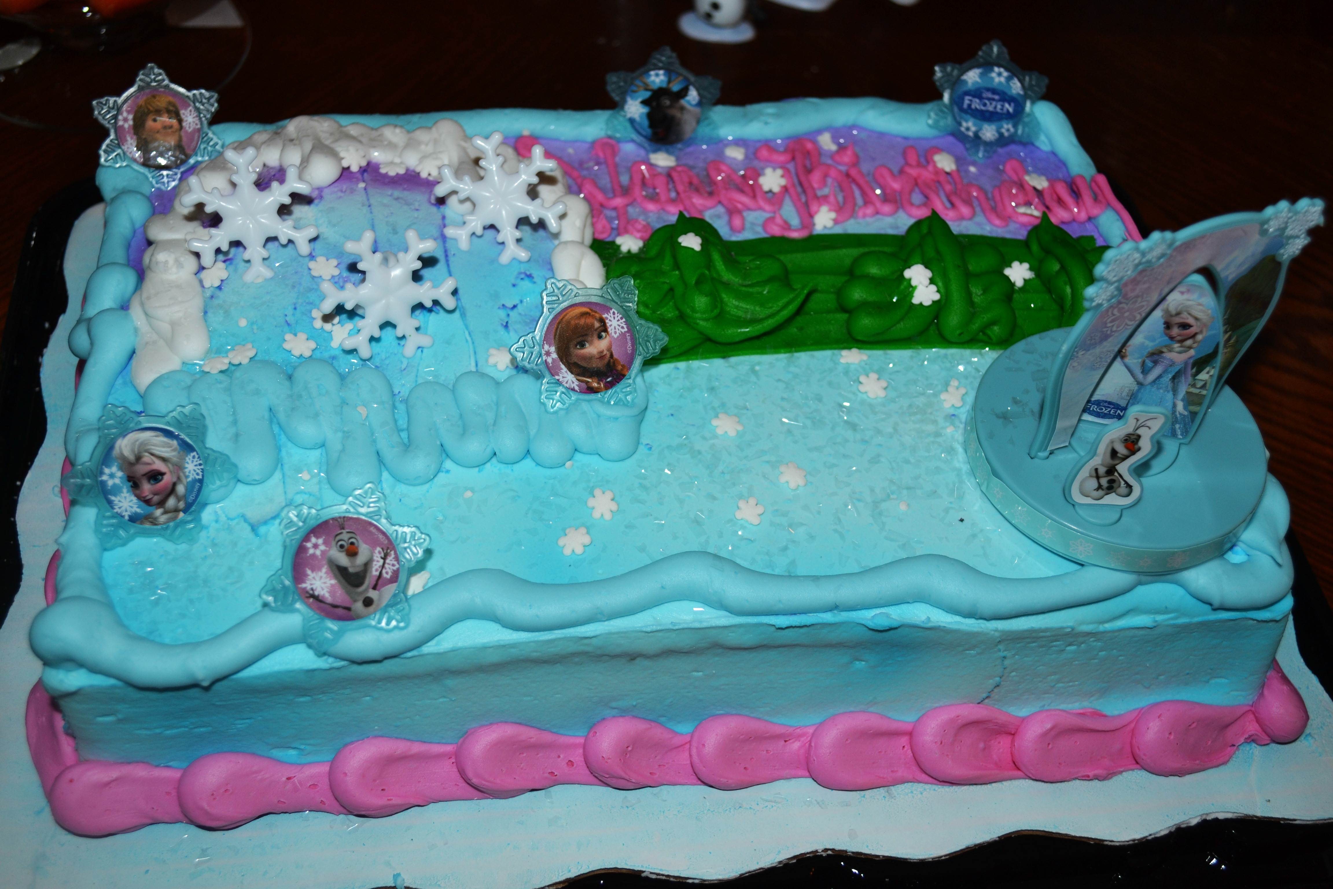 Eleanors First Birthday Frozen Party